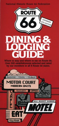 9780970995155: Route 66 Dining & Lodging Guide - 12th Edition
