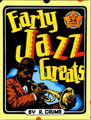 Early Jazz Greats Trading Cards Set: Crumb, R.