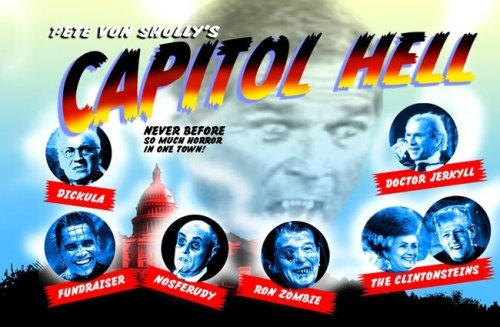 9780971008090: Capitol Hell Political Monsters Postcard Book