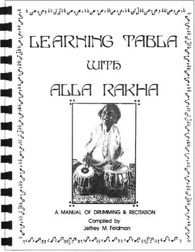 9780971011557: Learning Tabla with Alla Rakha (with online videos and audio CD)