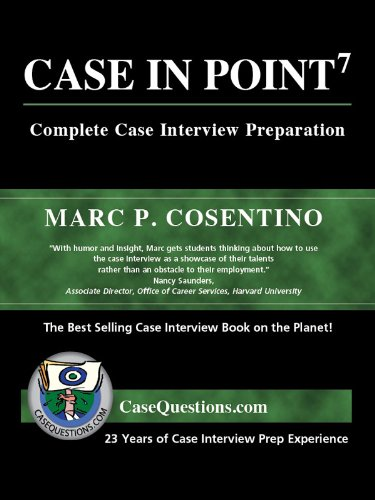 9780971015869: Case in Point: Complete Case Interview Preparation, 7th Edition