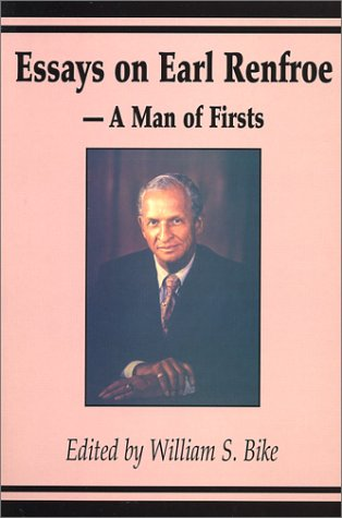 9780971045903: Essays on Earl Renfroe: A Man of Firsts