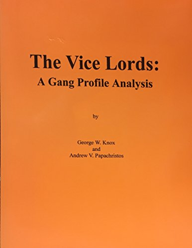 9780971053991: The Vice Lords: A gang profile analysis