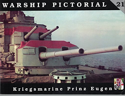 9780971068773: Warship Pictorial No. 21 - Kriegsmarine Prinz Eugen