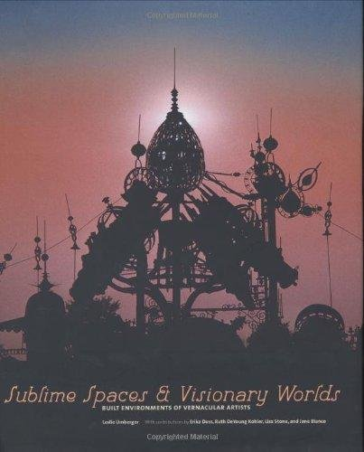 9780971070356: Sublime Spaces and Visionary Worlds: Built Enviroments of Vernacular Artists