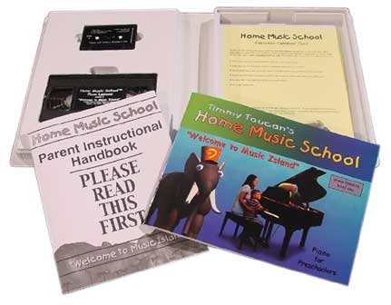 9780971075207: TIMMY TOUCAN'S HOME MUSIC SCHOOL PIANO LESSONS LEVEL ONE-FOR PRESCHOOLERS---BOOK/VHS/CASSETTE