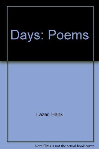 9780971086104: Days: Poems