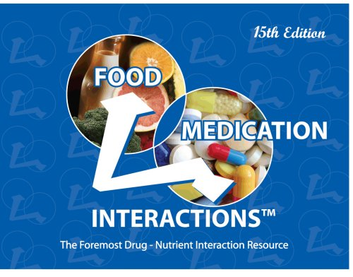 Food-Medication Interactions, 15th Edition: FADA, Zaneta M.