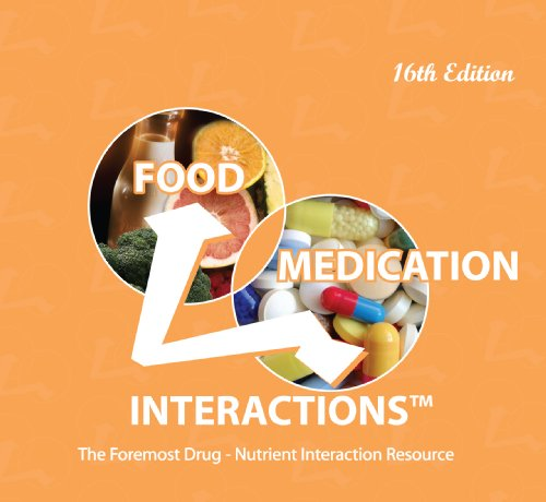 9780971089648: Food Medication Interactions 16th Edition