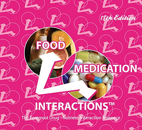 9780971089662: Food Medication Interactions 18th Edition
