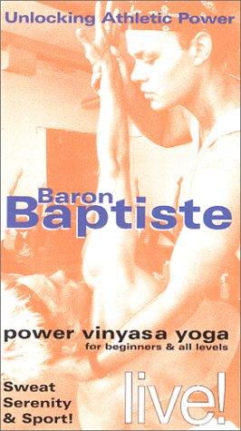 9780971098220: Baron Baptiste: Power Vinyasa Yoga [VHS]
