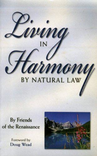 9780971192133: Living in Harmony by Natural Law