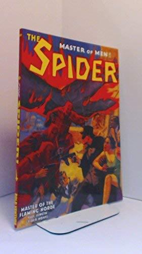 THE SPIDER - Master of Men (Issue 50) - November Nov 1937: Master of the Flaming Horde; Doc Turner ...