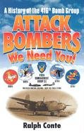 Attack Bombers We Need You!: Ralph Conte