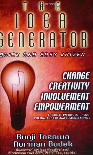 9780971243699: The Idea Generator: Quick and Easy Kaizen