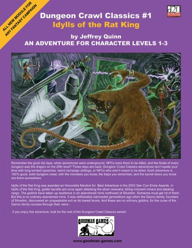 9780971276796: Dungeon Crawl Classics #1: Idylls of the Rat King