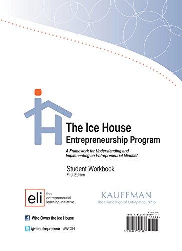 9780971305977: IHEP - Student Workbook: Framework for Understanding and Implementing an Entrepreneurial Mindset
