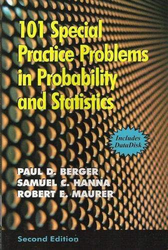 9780971313088: 101 Special Practice Problems in Probability and Statistics