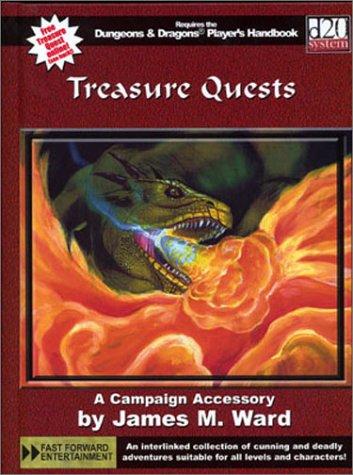 9780971323476: Treasure Quests (d20 System)