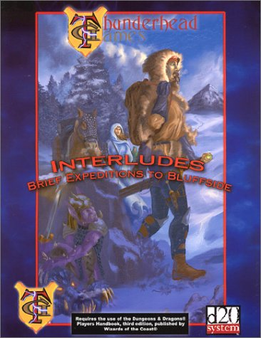 Interludes Brief Expeditions To Bluffside (d20)