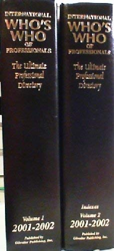 9780971330337: International Who's Who of Professionals: The Ultimate Professional Directory