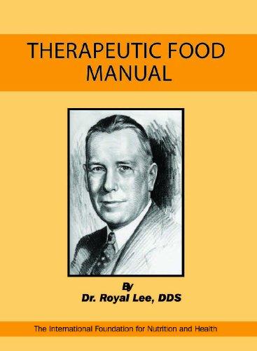 9780971331457: Therapeutic Food Manual