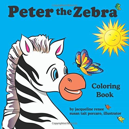 9780971337190: Peter the Zebra Coloring Book II