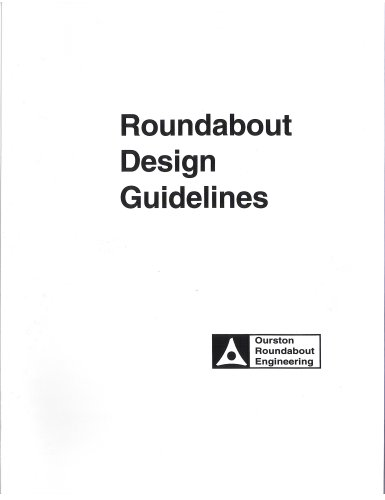 9780971381513: Roundabout Design Guidelines