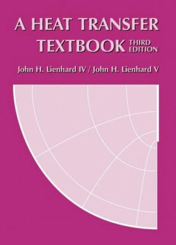 9780971383531: A Heat Transfer Textbook, 3rd edition