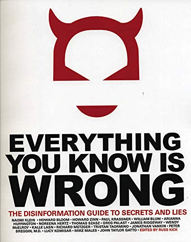 9780971394209: Everything You Know Is Wrong: The Disinformation Guide to Secrets and Lies