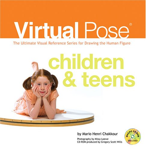 Virtual Pose Children & Teens: The Ultimate Visual Reference Series for Drawing the Human Figure