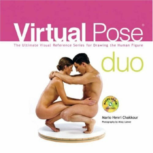 Virtual Pose Duo: The Ultimate Visual Reference Series for Drawing the Human Figure