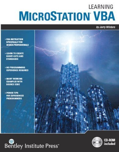 Learning MicroStation VBA: Jerry Winters