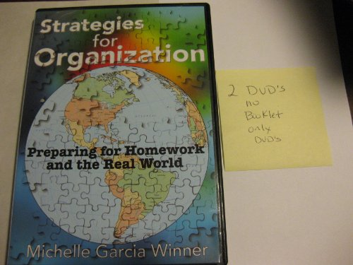 9780971421370: Strategies for Organization (Dvd Only No Book)