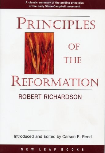 9780971428966: Principles of the Reformation
