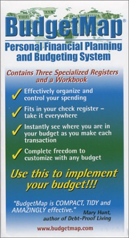 9780971429406: BudgetMap Personal Financial Planning and Budgeting System