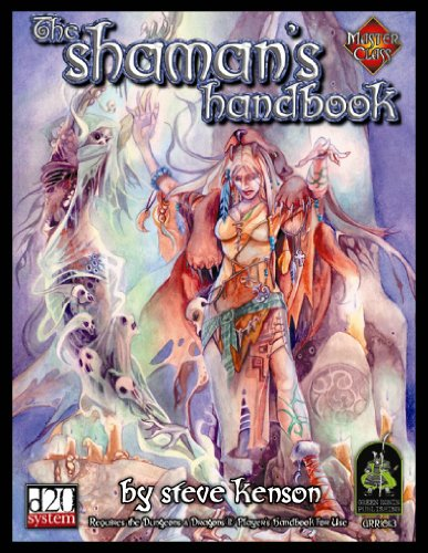 The Shaman's Handbook (Master Classes) (0971438013) by Kenson, Steve
