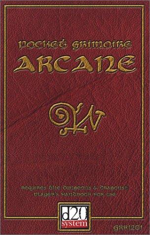 9780971438033: Pocket Grimoire Arcane (d20 System) (Arcana)