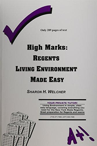 9780971466227: High Marks: Regents Living Environment Made Easy