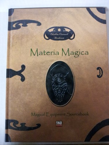 9780971481602: SHADOW COUNCIL ARCHIVES: MATERIA MAGICA MAGICAL EQUIPMENT SOURCEBOOK (Brand new, unused copy)