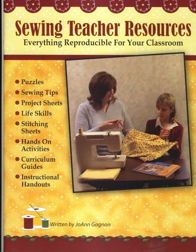 Sewing Teacher Resources, Everything Reproducible For Your Classroom