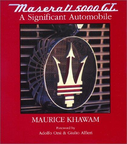 9780971521551: Maserati 5000gt A Significant Automobile