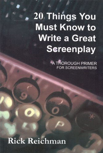 9780971534476: 20 Things You Must Know to Write a Great Screenplay