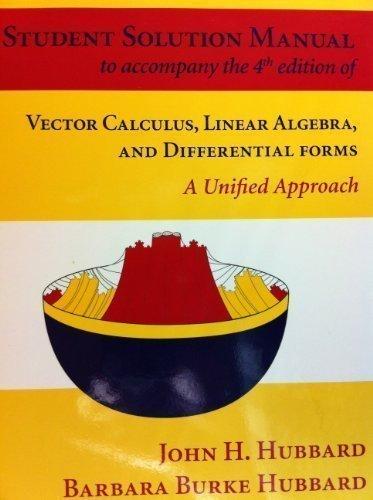 vector calculus solutions manual pdf