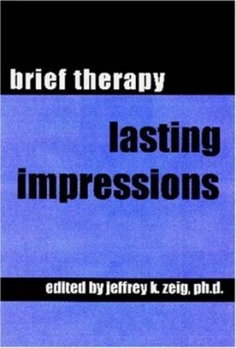 9780971619043: Brief Therapy: Lasting Impressions