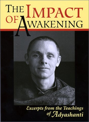 9780971703605: The Impact of Awakening: Excerpts from the Teachings of Adyashanti