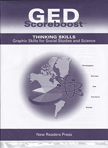 9780971716766: GED Scoreboost - Thinking Skills Graphic Skills for Social Studies and Science
