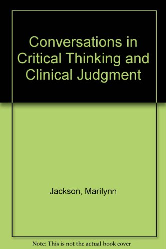 critical thinking and clinical judgement