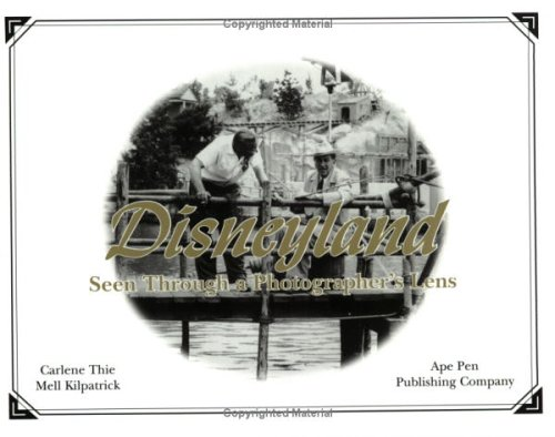 9780971793224: Disney Years Seen Through a Photographer's Lens