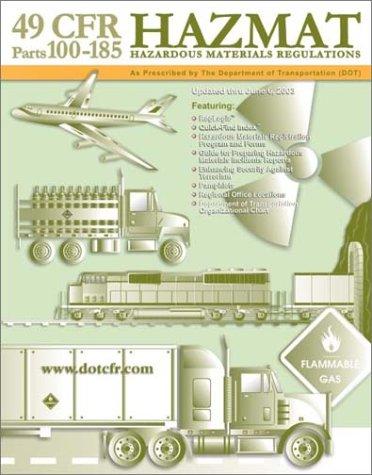 9780971808065: 49 CFR Hazardous Materials Regulations (HAZMAT)